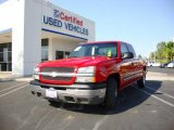 2004 Victory Red Chevrolet Silverado 1500 LS Extended Cab #14370103