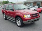 2001 Toreador Red Metallic Ford Explorer Sport 4x4 #14370215