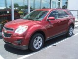 2010 Cardinal Red Metallic Chevrolet Equinox LT #14424193