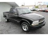 Onyx Black Chevrolet S10 in 1998