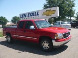 2001 Fire Red GMC Sierra 1500 SLT Extended Cab 4x4 #14426605