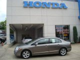 2006 Galaxy Gray Metallic Honda Civic EX Sedan #14451536
