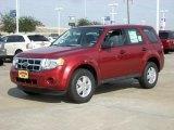 2009 Sangria Red Metallic Ford Escape XLS #1432952