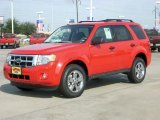 2009 Torch Red Ford Escape XLT V6 #1432951