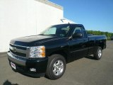 2008 Black Chevrolet Silverado 1500 LT Regular Cab #14508374