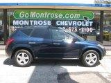 2005 Midnight Blue Pearl Nissan Murano SL AWD #14494021