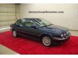 2007 Jaguar X-Type Indigo Blue Metallic