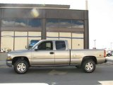 2002 Light Pewter Metallic Chevrolet Silverado 1500 LT Extended Cab 4x4 #14554411
