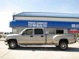 2002 Light Pewter Metallic Chevrolet Silverado 3500 LT Crew Cab 4x4 Dually #14554635
