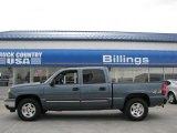 2007 Blue Granite Metallic Chevrolet Silverado 1500 Classic LT Crew Cab 4x4 #14554633