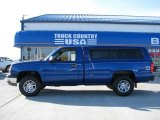 2003 Arrival Blue Metallic Chevrolet Silverado 1500 LS Regular Cab 4x4 #14554632