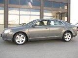 2008 Dark Gray Metallic Chevrolet Malibu LS Sedan #14554580