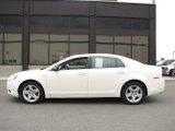 2008 White Chevrolet Malibu LS Sedan #14554578