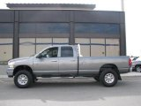 2008 Mineral Gray Metallic Dodge Ram 3500 Big Horn Edition Quad Cab 4x4 #14554463