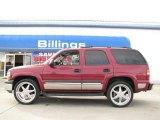 2005 Sport Red Metallic Chevrolet Tahoe LS 4x4 #14554646