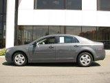 2008 Dark Gray Metallic Chevrolet Malibu LS Sedan #14554553