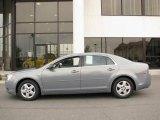 2008 Golden Pewter Metallic Chevrolet Malibu LS Sedan #14554548