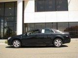 2008 Black Granite Metallic Chevrolet Malibu LS Sedan #14554546