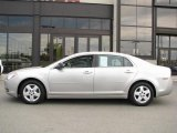 2008 Silverstone Metallic Chevrolet Malibu LS Sedan #14554551