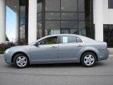 2008 Golden Pewter Metallic Chevrolet Malibu LS Sedan #14554552