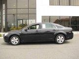 2008 Black Granite Metallic Chevrolet Malibu LS Sedan #14554550