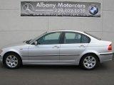 2003 Titanium Silver Metallic BMW 3 Series 325i Sedan #14587247