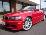 2006 Imola Red BMW 3 Series 330i Convertible #14578778