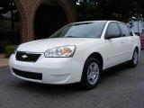 2007 White Chevrolet Malibu LS Sedan #14589374