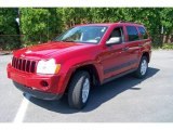 2006 Inferno Red Crystal Pearl Jeep Grand Cherokee Laredo 4x4 #14576045