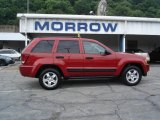 2006 Inferno Red Crystal Pearl Jeep Grand Cherokee Laredo 4x4 #14579242
