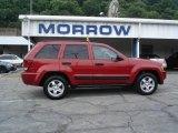 2006 Inferno Red Crystal Pearl Jeep Grand Cherokee Laredo 4x4 #14579242