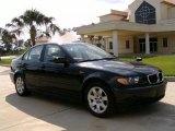 2004 Jet Black BMW 3 Series 325i Sedan #14646213