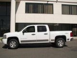 2008 Summit White Chevrolet Silverado 1500 LT Crew Cab 4x4 #14652213