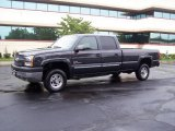 2003 Dark Gray Metallic Chevrolet Silverado 2500HD LS Crew Cab 4x4 #14647680