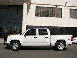 2006 Summit White Chevrolet Silverado 1500 LT Crew Cab 4x4 #14652230