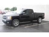 2009 Black Chevrolet Silverado 1500 LT Extended Cab 4x4 #14651382