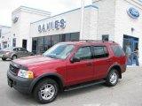 2003 Redfire Metallic Ford Explorer XLS 4x4 #14644778