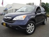 2008 Royal Blue Pearl Honda CR-V EX 4WD #14632271