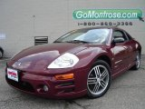 2003 Ultra Red Pearl Mitsubishi Eclipse GTS Coupe #14632450