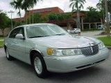 2000 Silver Frost Metallic Lincoln Town Car Executive #14638846