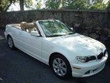 2006 Alpine White BMW 3 Series 325i Convertible #14638898