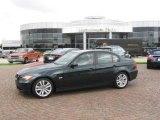 2008 Deep Green Metallic BMW 3 Series 328i Sedan #14650126