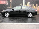 2009 Crystal Black Pearl Acura TSX Sedan #1392971