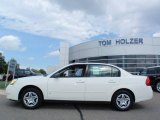 2007 White Chevrolet Malibu LS Sedan #1283298