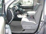 2008 Toyota Tundra SR5 Double Cab Graphite Gray Interior