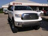 2008 Super White Toyota Tundra SR5 TRD Double Cab 4x4 #1442535