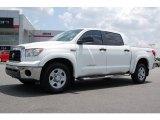 2008 Super White Toyota Tundra SR5 TRD CrewMax #14716573