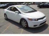 2007 Taffeta White Honda Civic LX Coupe #14718919