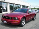 2006 Redfire Metallic Ford Mustang V6 Premium Coupe #14712513