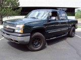2005 Dark Green Metallic Chevrolet Silverado 1500 LS Crew Cab 4x4 #14721327